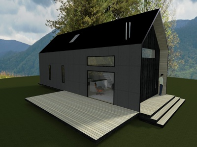 House Design sketchup architecture house modern