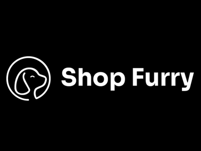 ShopFurry Logo (black and white) vector icon design logo design concept logo design branding typography logo design graphic  design adobe illustrator