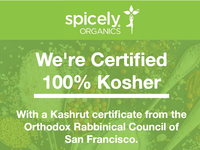 Spicely Organics Social Media Posts (100% Kosher)