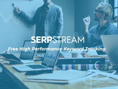SERPStream web banner