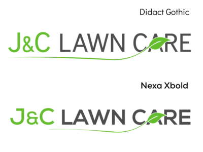 J&C Lawn Care (proposal 2)