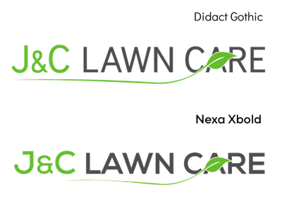 J&C Lawn Care (proposal 2) icon logo design concept icon design logo design typography branding logo design graphic  design adobe illustrator
