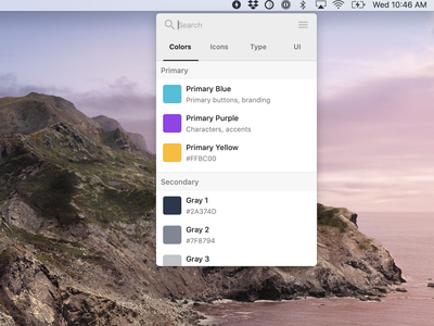 New design system tool desktop app mac ui system app app design tooling design tool design tools design systems design system