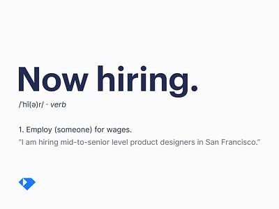 Hiring product designers hiring product designers product design job jobs