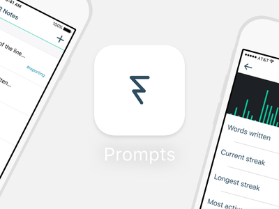 New Prompts Style/Icon elegant branding simple icons iphone applications ios icon app