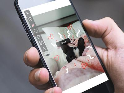 Drwer - doodling for designers product design doodler drawing ui interface ios app doodle