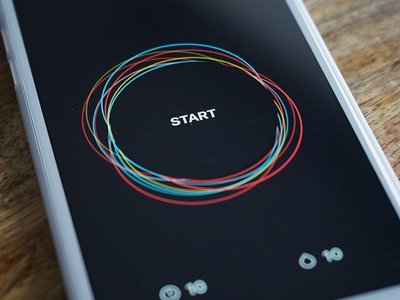 Center Meditation Timer and Tracker interface ui center meditate mindfulness mindful ios tracker timer meditation apps app