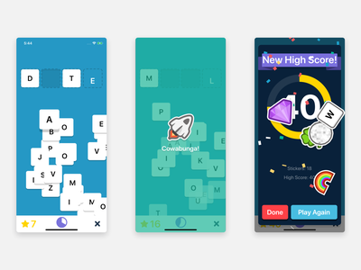 Wordid iPhone game app stickers sticker fun illustration gaming iphone game iphone ios game