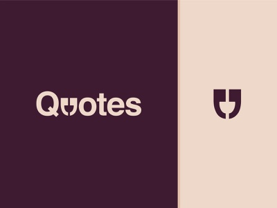 Quotes graphics vector design symbol illustration wordmark letters story poems mark fonts identity branding graphic design logo creative flat clever typographic quotes