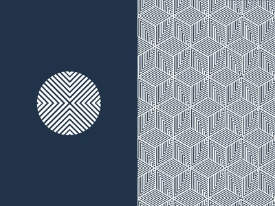 Geometric design clean fresh new simple flat blue colors ui ux vector branding logo design symbol illustration fonts classic elegent geometric graphic design