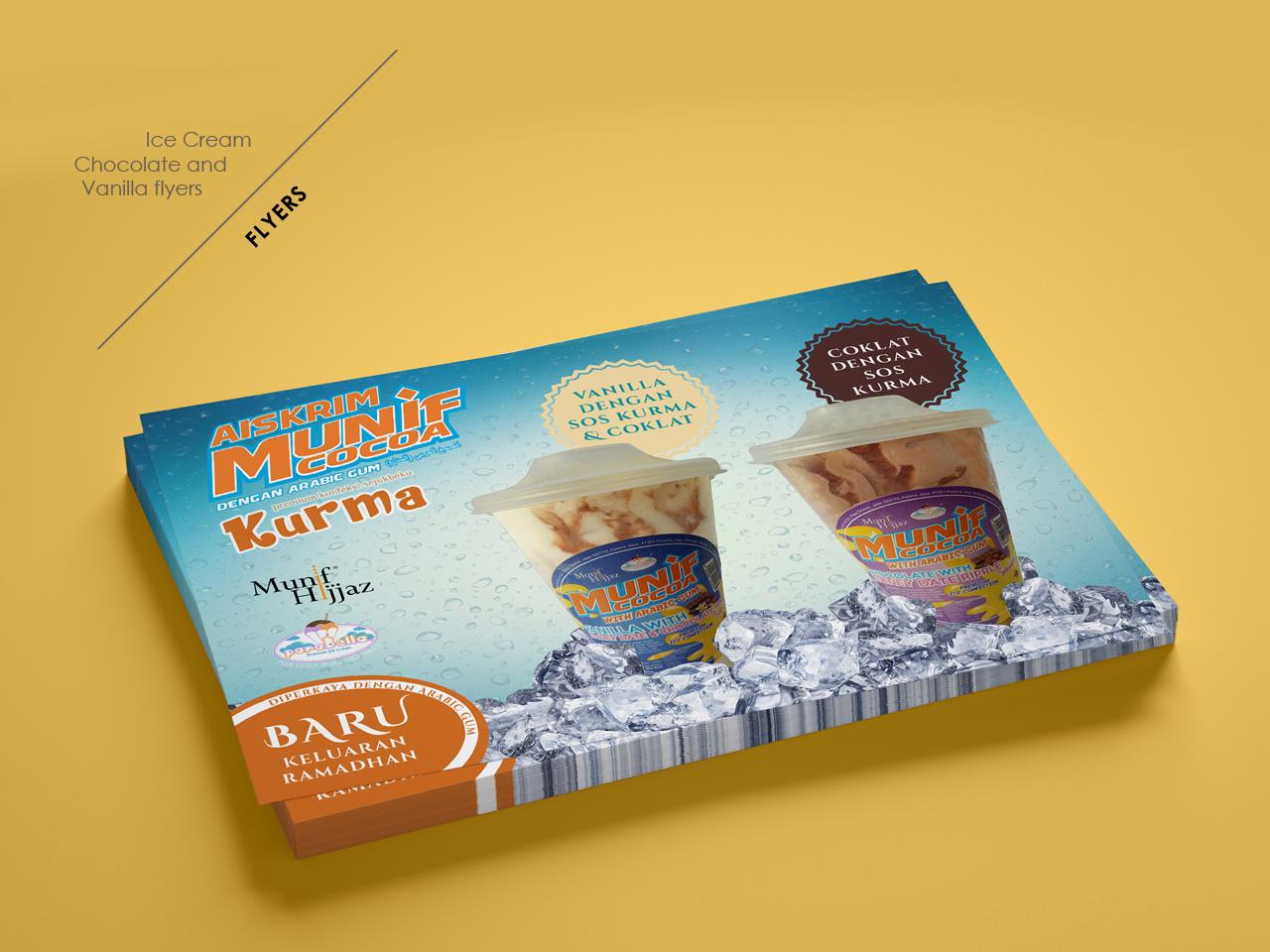 Flyers | Ice cream poster design flyer design poster design vanilla chocolate icecream flyers poster