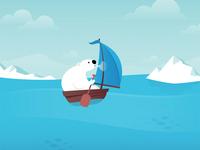 Polar Warming Global Bear