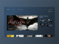 Steam UI Redesign