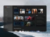 Cinema app UI