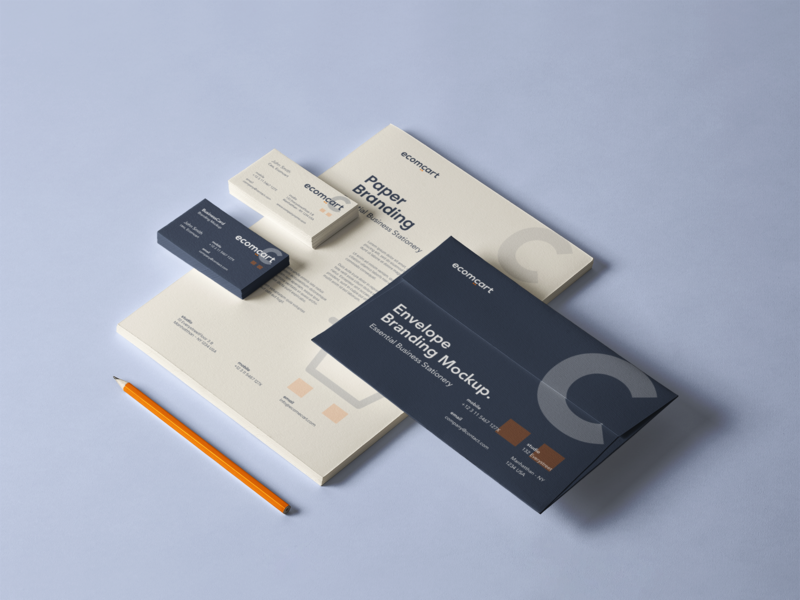 Business Stationary Mock up