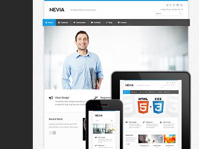 Nevia Responsive Drupal Theme drupal drupal themes premium drupal theme