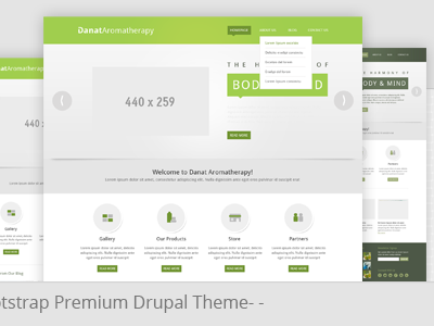 Danat - Responsive Drupal Theme drupal drupal themes premium drupal theme