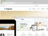Magnetto - Best Drupal Theme