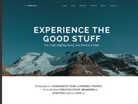 Momentum - Simple Creative One Page Drupal Theme