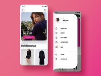 Juicy Couture App Design