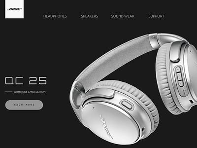 Bose Website Redesign web ux branding design