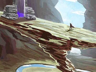 Portal concept art portal