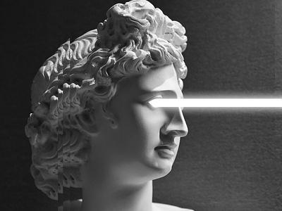 Roman Head Laser symbol art brand texture color photoshop designer design roman