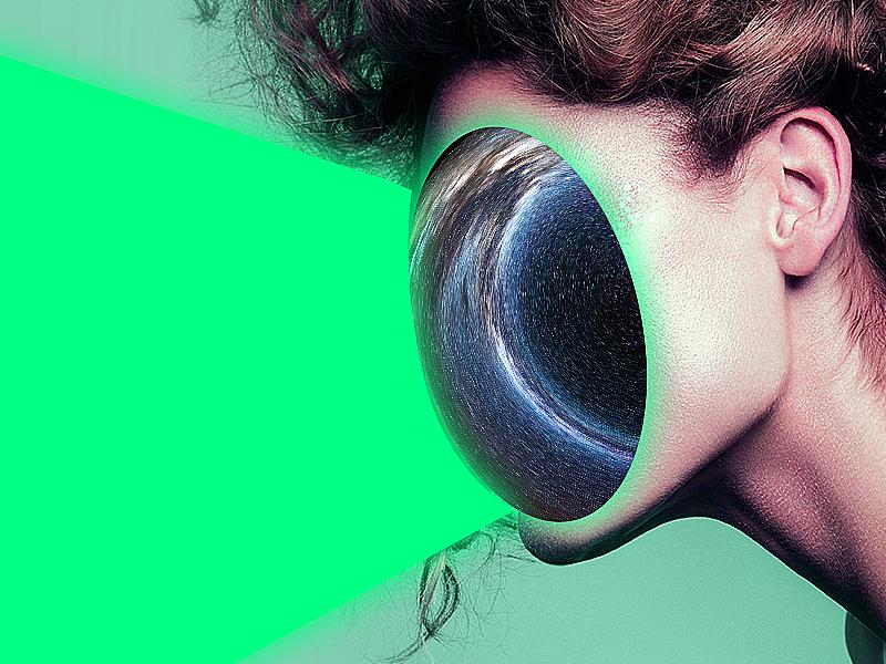 Girl Beam model girl star wars artsy art illusion space designer design photoshop