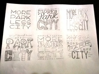 Wolf Creek Resort - Sticker sketches