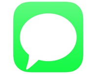 Apple Messages Icon Concept