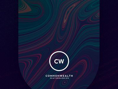 CW Deck Conceptualization [001] skateboard halftone liquify
