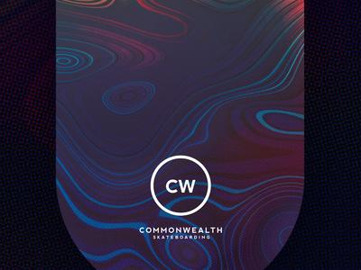 CW Deck Conceptualization [002] skateboard halftone liquify
