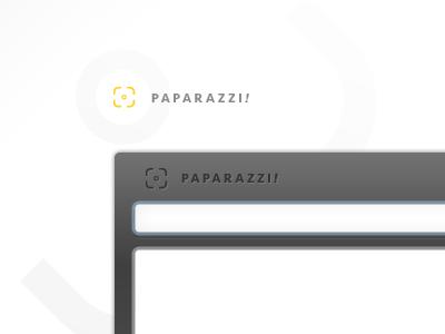 Paparazzi! Throwaway Homepage photoshop