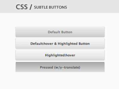 Css buttons 001
