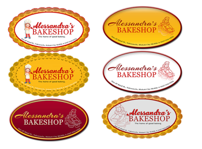 Case Studies on Alessandras Bakeshop Logo