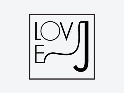 Love, J Logo