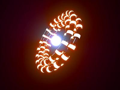 Wormhole nft after affects 3d motion graphics animation loop mograph octane cinema4d c4d
