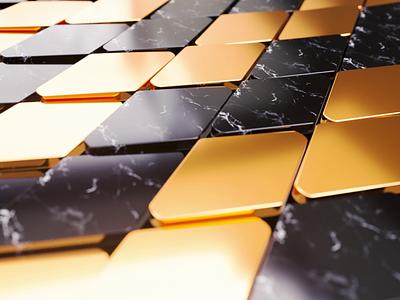 Steps? nft motion design marble materials gold render octane loop model cinema4d c4d animation 3d motion graphics