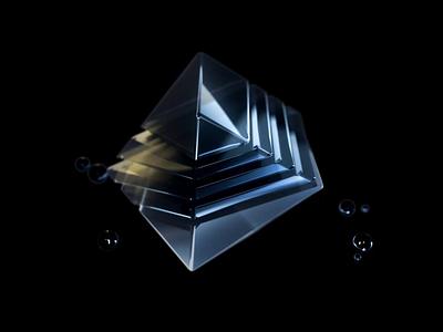 Moving Geometry Letter.co design art digital rhombus square sphere loop model octane c4d 3d motiongraphics abstract art motion art animation art animation