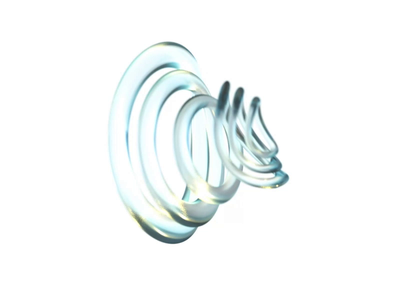 Rings Letter.co liquid textures transparent rings abstract loop c4d octane motiongraphics abstract art after affects design motion art animation art motion graphics animation 3d