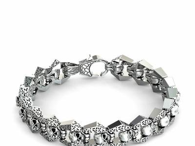 STAINLESS STEEL BRACELET HEXAGON SHAPE stainless steel bracelet tungsten wedding rings for men zirconium tungsten rings for men