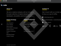 Incube web landing page Expanded