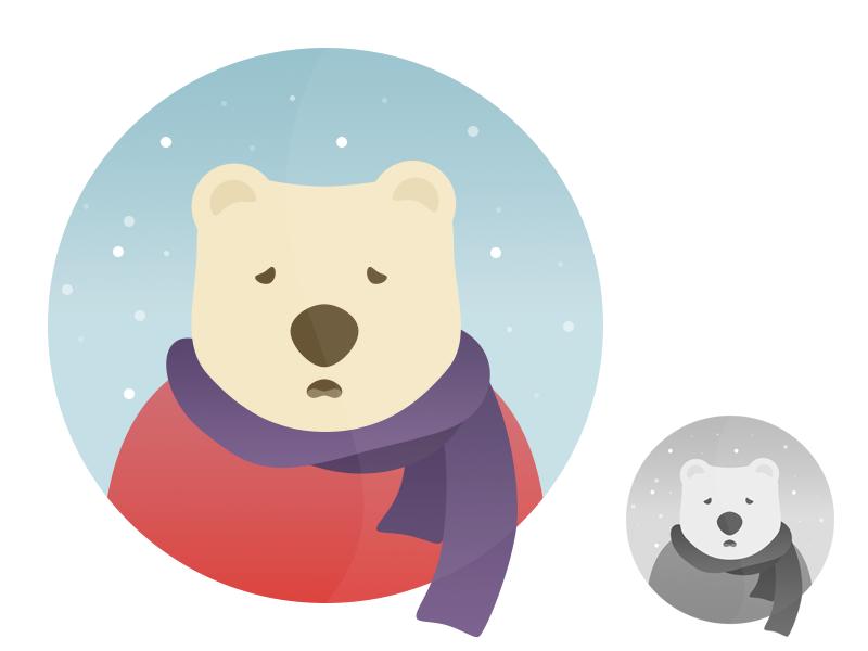 Bearacold illustration icons
