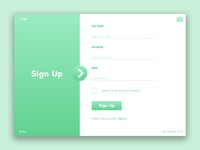 Sign Up Form Daily UI #1