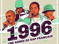 Mixtape cover 1996 french rap