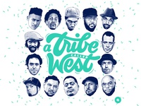 A Tribe Called West mixtape Cover