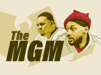 Wu-tang Forever illustration webdesign website illustration raekwon ghostface wu-tang