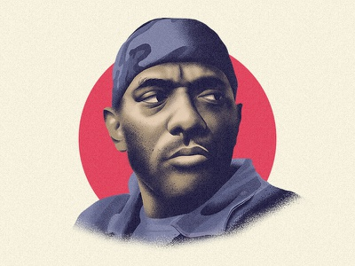 Prodigy of Mobb Deep (RIP) music portrait ripprodigy mobb deep prodigy rap illustration