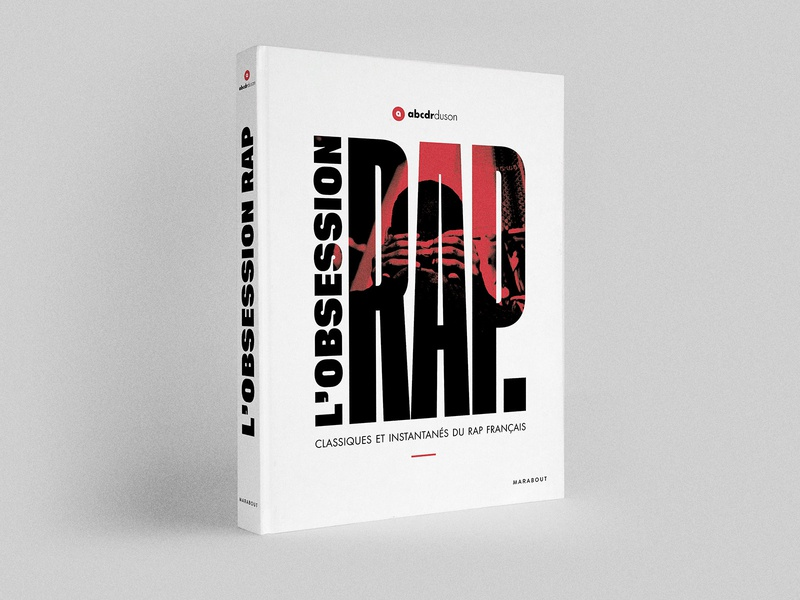 Book cover for l'Obsession Rap cover rap music book cover
