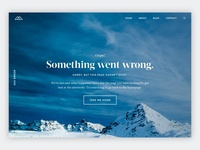 404 Page—Daily UI #008